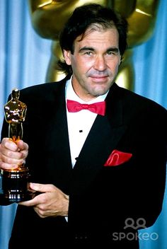 """62nd Academy Awards® (1990) ~ Oliver Stone won the Oscar® for Directing """"Born on the Fourth of July"""" (1989)"""