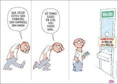 Até a mega-sena aumenta! Homem pobre toma susto na loteria ao ver aumento de preço... NEM PARA JOGAR... F***-SE...