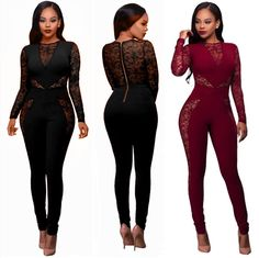 1d16c93acb80 Fashion Womens Jumpsuit Bodycon Playsuit Club Party Long Trousers Romper  Suit Long Jumpsuits