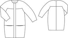 Cocoon Coat 10/2013 #103 – Sewing Patterns   BurdaStyle.com