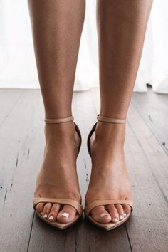 Designed with comfort and luxury in mind, our Dosa nude heels have been made with the most luxurious buttery soft leather and a cushioned insole. Indie Wedding Dress, Wedding Dresses, Unique Wedding Shoes, Bridal Sandals, Lace Bride, Grace Loves Lace, Walk This Way, Nude Heels, Ankle Straps