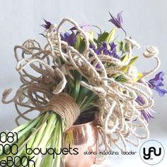 LALELE si CLEMATIS #100bouquets #ebook #yauconcept #elenamadalinatoader Floral Bouquets, Wedding Bouquets, Wedding Tulips, Modern Flower Arrangements, Flower Ball, Bunch Of Flowers, Arte Floral, Bridal Flowers, Flower Designs
