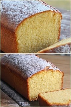 Pastry Cake, Dessert Recipes, Desserts, Afternoon Tea, Cornbread, Vanilla Cake, Banana Bread, Brunch, Food And Drink
