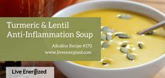 This powerfully anti-inflammatory soup is delicious, warming, deep and filling. It contains several of the most anti-inflammatory ingredients on earth and is perfect for the anti-inflammatory diet.