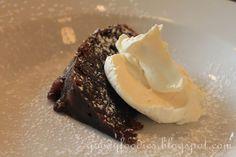 Scottish Food: Clootie dumpling with Chantilly cream