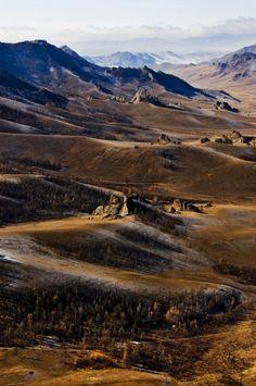 Gorkhi, Terelj National Park, Mongolia. I would really like to go to Mongolia.