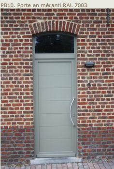 RAL 7003 MOSS GREY DOOR