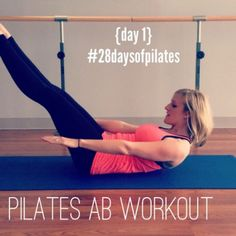 Welcome to Day 1 of 28 Days of Pilates with Robin Long of The Balanced Life! Today's workout is all about the ABS.