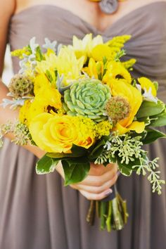 65+ Grey and Yellow Wedding Color Ideas   21st - Bridal World - Wedding Lists and Trends