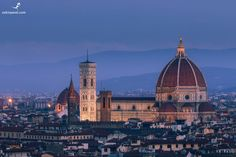 Morning in Florence. Scenery Pictures, Florence Italy, Empire State Building, Places Ive Been, Taj Mahal, Travel, Viajes, Destinations, Traveling