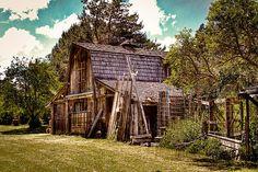 Vic Moore's old barn near Pullman, Washington