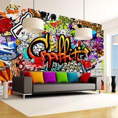 teenage boys room graffiti interiors pinterest. Black Bedroom Furniture Sets. Home Design Ideas