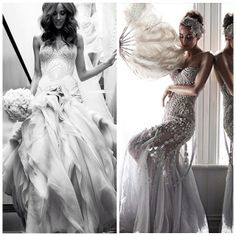 Wedding dress, Rebecca Judd's ceremony & reception J'Aton Couture gowns