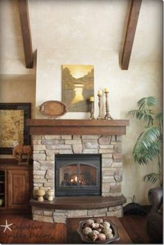 fireplace shape and size Google Image Result for http://southernhospitalityblog.com/wp-content/uploads/2012/09/blog-rustic-fireplace-mantle_thumb.jpg
