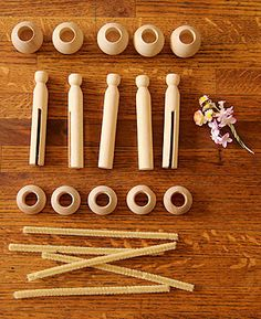 Clothespin Doll Supply Kit