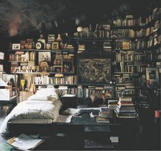 Reader's winter hideaway. How can I live here?!