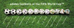 44 years | Adidas footballs at FIFA World Cup | 1970-2014