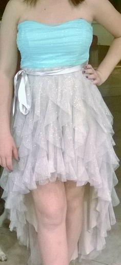 My 8th grade graduation dress