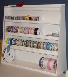 Ribbon Rack by wenchie - Cards and Paper Crafts at Splitcoaststampers