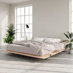 The Floyd Platform Bed in birch offers a modern look that fits with any home. Requires no tools for assembly and ships straight to your door. Home Decor Bedroom, Home, Bedroom Makeover, Home Bedroom, Modern Platform Bed, Luxurious Bedrooms, Bedroom Inspirations, Apartment Decor, Bed