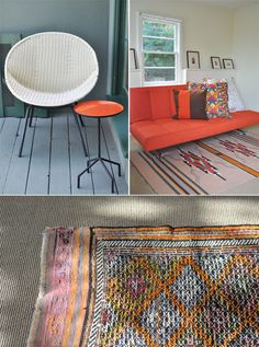 Great Fun Color Palette With The Orange/tangerine Colors. And I Just Love  The