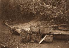 Still Life - Puget Sound (The North American Indian, v. IX. Norwood, MA: The Plimpton Press, 1913)