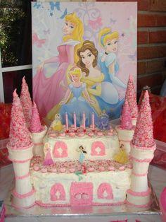ideas birthday cake baby girl diy princess party for 2019 Castle Birthday Cakes, Unique Birthday Cakes, Novelty Birthday Cakes, Birthday Cake Girls, Birthday Fun, Birthday Parties, Birthday Ideas, Birthday Stuff, Disney Princess Birthday Party