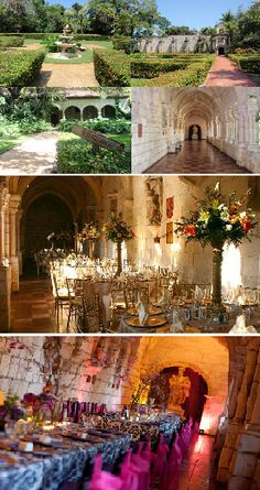 The Ancient Spanish Monastery is located in North Miami Beach and represents the perfect venue for an unique, fairy-tale like wedding ceremony and reception. http://www.spanishmonastery.com/