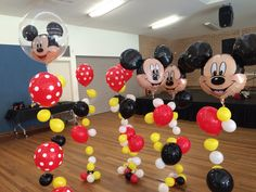 All the Mickeys waiting to be placed on tables. A very fun party to decorate!