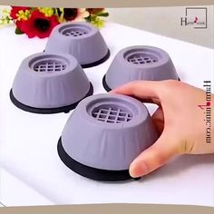 Foot Pads, Lose Weight At Home, Noise Reduction, Easy Install, Washer And Dryer, Cool Gadgets, Honeycomb, Washing Machine, Household