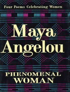 Phenomenal Woman : Four Poems Celebrating Women by Maya Angelou Hardcover) for sale online Maya Angelou Books, African American Authors, American Literature, African Americans, Book Of Poems, Black Authors, Summer Reading Lists, Girl Reading, Reading Books