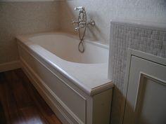 vasca da bagno in marmo biancone di verona