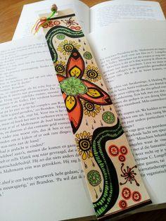 My first zentangle bookmark