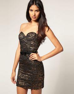 Paprika Jacquard Bandeau Dress With Belt                                                                £35.00NOW £28.00