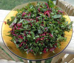 Kale beet salad cropped