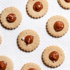 This take on the traditional Cuban cookie is made with cream cheese and guava, with a little sprinkle of sea salt on top.
