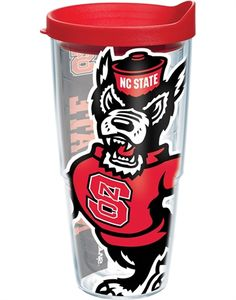 Collegiate | North Carolina State University | Colossal Wrap with Lid | Tumblers, Mugs, Cups | Tervis