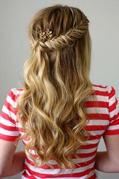 Haarfrisur