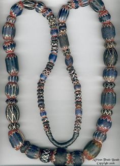 Trade Beads | Venetian 7 Layer Chevrons from the late 1400's and Tire beads from the 1800's