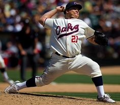 Bartolo Colon turns back the clock to the PCL days Michael Mayer ( Mlb Uniforms, Oakland Athletics, Famous People, Athlete, Clock, Twitter, Watch, Clocks