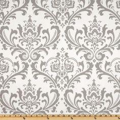 Premier Prints Twill Traditions Storm Grey - Discount Designer Fabric - Fabric.com
