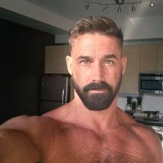 Short Hairstyle and beard