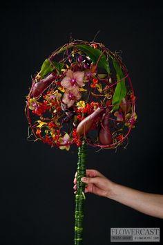 Zoya Norbutaite (Moscow, Russia) | FLOWERCAST.COM | All about flower design, floristics.