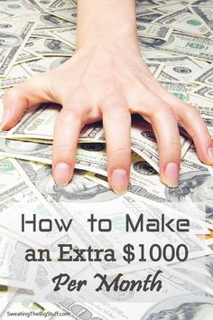 Making an extra $1,000 a month can be life-changing. But making that money could be a lot easier than you imagined.