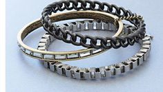 Chained bracelets