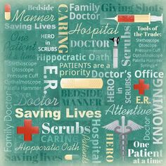 Karen Foster 64852 Design 25 Sheets Scrapbooking Paper 12 x 12 Family Doctor Collage -- Visit the image link more details.