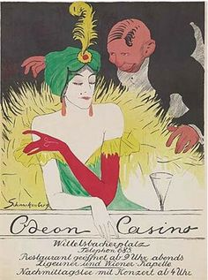 Walter Schnackenberg, 1911, Odéon casino.