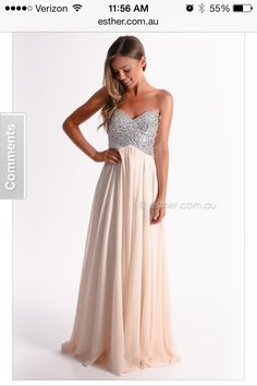 I'm looking for something like this: floor length, fitted at the top and flowey from my belly to my feet :)