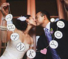 Creative Thank You Cards - Wedding