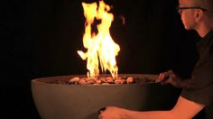 Solus Fire Pit Flame